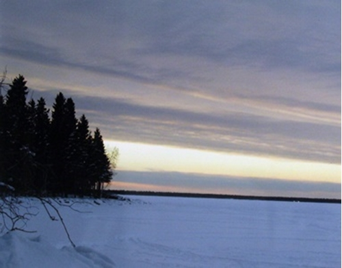 Picture of Winter Scene: Northern Manitoba