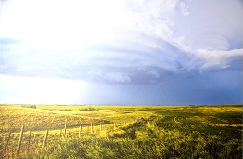 Picture of Prairie Storm Clouds