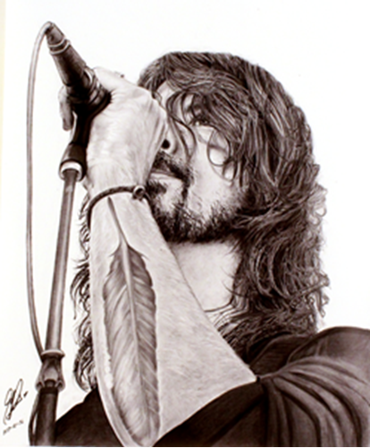 Picture of David Grohl Print